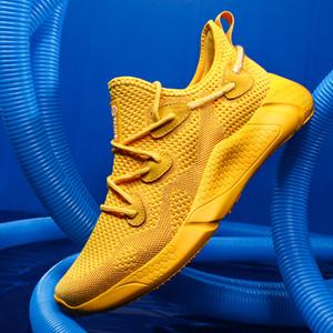 Zapatos ACGICEA deporte de los hombres de los zapatos corrientes Verde 2020 Marca las zapatillas de deporte de los hombres Zapatillas Hombre Deportiva transpirable Masculino Esportivo