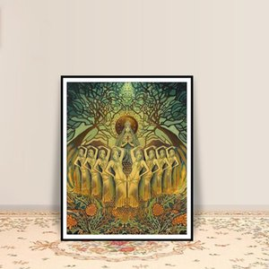 Bee Goddess Art Deco Pagan Honey Queen Greeting Card Mythology Psychedelic Bohemian Gypsy Goddess Posters And Prints