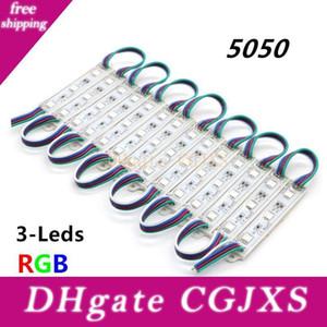 75mm * 12mm 5050 smd 3leds RGB-LED-Module DC12V imprägniern IP65 LED-Beleuchtung für Signage 5000pcs Big Großhandel