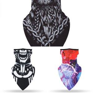 Parti n0ZzF baskı ra Maskeler Çok üçgen Fonksiyon Başkanı Eşarp Sorunsuz Kafa Fular bandanas Bisiklet Maskeler İskelet Sihirli Eşarp Maskeleri