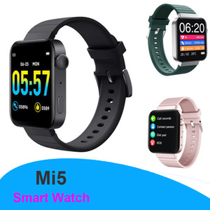 Mi5 Smart Watch Smartwatch Full Touch Screen Men Women Sport Bluetooth 5.0 Zinc Alloy Fitness IP67 Smart Watch Dropshipping