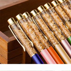 New Ballpoint Pen Drift Sand Glitter Crystal Pen Rainbow Color Creative Ball Pen Kids Gift Novelty Stationery