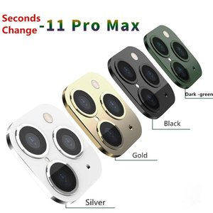 Seconds Len Generation Updated Applicable For Iphone X Xs Max Seconds Change To 11 Pro Max Lens Sticker Modified Camera Cover Titanium Alloy