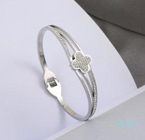 Heißer Verkauf-2020 LIEBER Charme-Armbänder Schmuck Bester 316L Edelstahl Schraube Armreif mit Schraubenzieher für Wife Gift Classics
