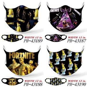Для Fortnite DesignerFace Fortnite Masks3 слоев пылезащитного FortniterenFortnite MasksFacial Защитного Fortnite Маски Fortnite-Dust Mask # 398