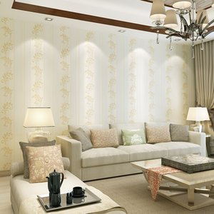 WELLYU New products Modern Jane Eucalyptus leafless wallpaper living room backdrop papel de parede para quarto wall paper