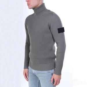 Topstoney Jumper CP Mens Sweater Winter Pull Warm Couple Shirt Casual Cyberpunk Sweatshirt Turtleneck Knitted Sweater 3Colors Asian Size