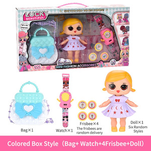 Kid toys DIY Barbie Dress Up Toy Creative Children Play house beauty fashion toys Kid Birthday Gift