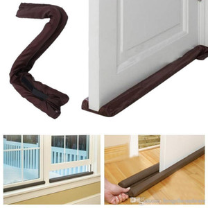 Home Dustproof Doorstop Window Twin Draft Guard Home Door Twin Door Draft Dodger Guard Stopper Energy Saving Protector BHO799 BC