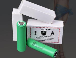 150 pcs 100% Melhor Qualidade HG2 30Q VTC6 3000MAH NCR 3400Mah 25R 2500mAh 18650 Bateria E Cig Mod Baterias Recarregáveis Nobile Estilo