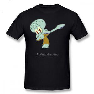 Thaddäus-T-Shirt Thaddäus Dab T-Shirt aus 100 Baumwolle Kurzarm-T-Shirt XXX Cute Male Print-Strand-T-Shirt
