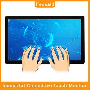 """Feosaid 17.3 بوصة رصد الصناعية 17 """"اللوحي بالسعة شاشة تعمل باللمس مع VGA HDMI DVI مدخلات للكمبيوتر 1600x900"""