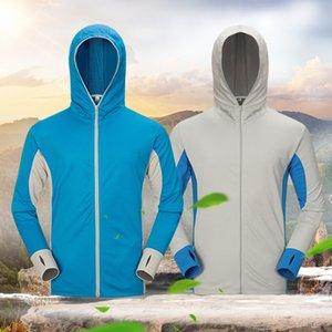 Открытая рыболовная одежда мужской летний дышащая износостойкий антимоскитный быстросохнущей одежды Ice Fishing солнцезащитный крем Одежда солнцезащитная крем