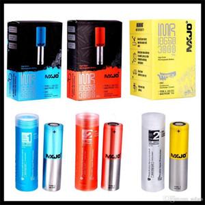 Geninue MXJO IMR 18650 IMR18650 Тип 1 2 Красный Синий Желтый кожи литиевая батарея 3500mAh 20A 35A IMR Vape Батарея Geninue
