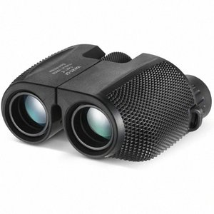 TOP! -Binoculars 10X25 BAK4 موشور السامية بدعم تكبير مجهر المحمولة نطاق الصيد تلسكوب جيب للألعاب الرياضية RFGS #