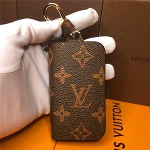 20bag Tasarımcı Unisex Anahtarlık Çanta kolye Çanta Arabalar Zincirler Kadınlar Hediyeleri Kadınlar Fare Deri Louis Vuitton Anahtarlık ile Kutusu İçin Anahtar Yüzükler