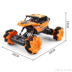 Kids electric remote control model cars 360 rotation four-wheel climbing vehicle with cool light toys 2.4GR C Off-Road drift boys gift 07