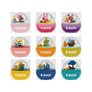 Music box Yellow duck funny egg Twisted egg Rotating music box Decorative music toy 2020 sell gift of the chlid