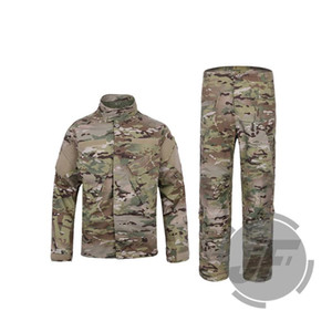 Tactical BDU Kampf Assult Hemd Pants Set R6 Art Camo Feld Uniform EmersonGear Paintball Bekleidung