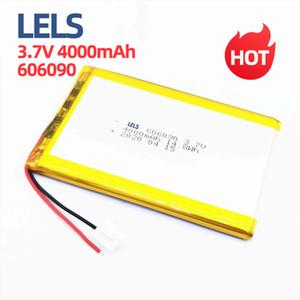 LELS 606090 3,7 V 4000MAH Wiederaufladbare Lithium-Batterie Lithiumbatterie, 3.7V Lithiumbatterie, mit Lademodul zum Schutz der Leiterplatte