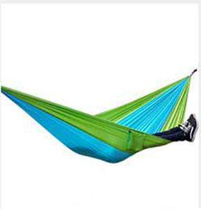 Açık Taşınabilir Uyku Salıncak 190 * 130 CM Açık Katlama Güçlendirme Hamak Kamp Leisure kırmaya VT1434