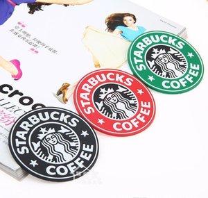 Круглый Krakens Mermaid Кубок колодки Матса Coffee Cup 8.3cm Placemats Logo Silicone Японский Starbucks Coaster Starbucks zuXZG garden2010