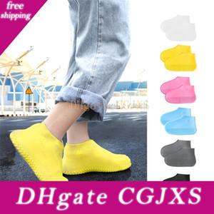 Wasserdichtes Schuhabdeckungs-Silikon-Schuhe Protektoren Regen Stiefel Overshoe faltbare Galoschen für Outdoor-Rainy Days Jk2001