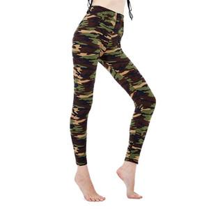 VISNXGI femmes Workout Leggings camouflage femmes pour Leggins Style du graffiti Slim pantalon stretch Army Green Legging Pantalon de remise en forme