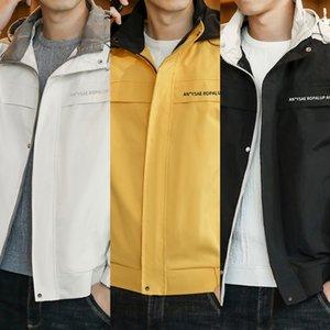 lMLpG kIxAc ceket erkekler 2020 yeni erkek beyzbol üniform tulum ceket sonbahar üniforma tarzı gündelik moda beyzbol Koreli c boyutunu overalls