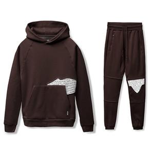 Winter Long Sleeve Harajuku Sweatshirts Men New Fashion Hoodie Mens Casual O-Neck Letters Printed Sweatshirt for Young Men