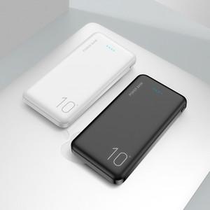 Ультратонкий Power Bank 10000MAH Портативное зарядное зарядное зарядное устройство Powerbank для iPhone Samsung Xiaomi Huawei