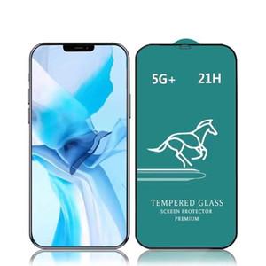 9H completa de cristal para el iPhone 12 11 pro max vidrio templado Portectors pantalla para el iPhone SE 2020 7 8 XR película protectora