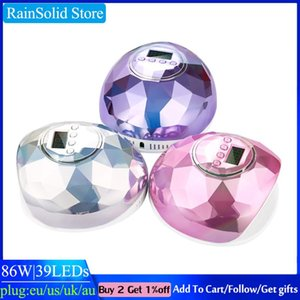 RainSolid 86W UV-LED-Nagel-Lampe für Maniküre Gel-Nagel-Trockner Trocknen polnischen Ice Lampe 30s / 60s / 90s Auto Sensor Maniküre Werkzeuge