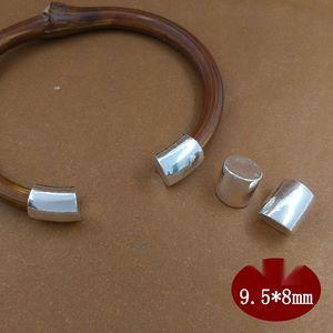 WHYq8 925 Sterling Silber DIY glänzenden Kessel Armband Diamant Pullover DIY Zubehör Rebe Armband Pullover Zubehör
