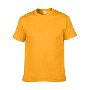Classic Round Neck Short Sleeve Men's Everyday 100% Cotton Anti-Pilling Blend Short Sleeve T shirts for Men High Qulity Breathable