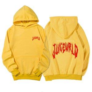 Rapper juice wrld men's and women's autumn and winter sweater fashion brand multicolor sportswear pullover men's clothing G33BC3C4
