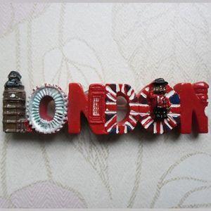 Великобритания, Биг Бен, Лондонский глаз, путешествие, чтобы ознаменовать Сообщение Добавлено Сувенирные магниты на холодильник Холодильник Игры Холодильник Letter Ма r9vv #