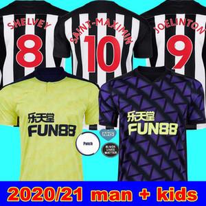 20 21 DE NEWCASTLE Home Kit de fútbol jerseys Shelvey 2020 2021 camiseta de fútbol Joelinton ALMIRON RITCHIE GAYLE Jersey