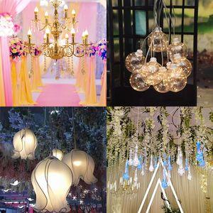 Iluminação adereços gaivota arranjo acrílico casamento iluminação de teto fase de corredor brilhante Pendant Chandelier lustre luminoso pássaro pendant 4