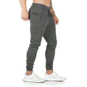 Men Sport Pants Fitness Pants Men's Slim Running Training Sports Pants Moisture Wicking Asian Size 5 Colors Breathable Comfortable