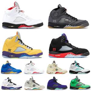Zapatos retro 5 aj 5s zapatillas de baloncesto off white jumpman 2020 recién llegado para hombre zapatillas deportivas zapatillas tamaño Eur 47