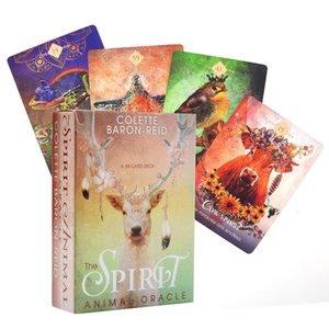 Guidance Fate Party Board Le nouveau jeu pour animaux Divination Carte Oracle Tarot Spirit Playing Card oUbuC HJ2009