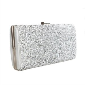 Women Evening Bag Black Silver Wedding Party Bag Diamond Rhinestone Clutches Crystal Bling Gold Clutch Bag Purses