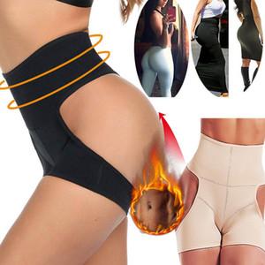 التخسيس الجسم المشكل الخصر المدرب BODYSUIT المرأة دفع ما يصل BuLifter الشريط Cincher الخصر البطن تحكم Shapewear سراويل