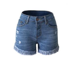 Designer Casual Shredded Tassel Ladies Shorts Womens Shorts 2020 New Summer Tassel Shorts Fashion Pants Womens
