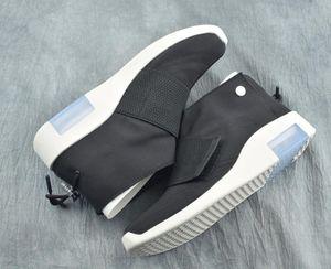 Nouveau mode Peur de Dieu Blanc Noir Homme Basketball Casual Chaussures pas cher FOG1 Mid Moccasin Sport Fashion Sneakers Bottes Top Qaulity avec la boîte