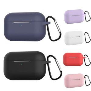 Cgjxs чехол для Airpods Pro Силиконовые Беспроводные наушники чехол для воздуха Бобы Pro Bluetooth гарнитура Защитные чехлы