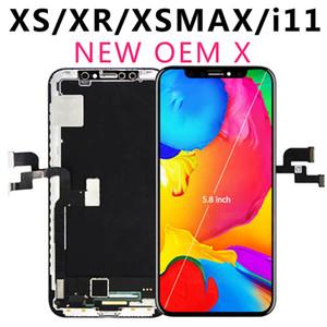100٪ مجربة للحصول على اي X OLED XS XR XsMax TFT 11 التي تعمل باللمس الأصل مع 3D الجمعية محول الأرقام لا الميت بكسل شاشة عرض LCD استبدال