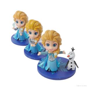 Q Postery Cake Topper Toys Muñeca de PVC Muñeca Figura Dibujos animados Anime Colección Modelo Juguete Niños Chica Fiesta de Cumpleaños Regalo