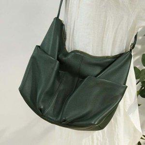 NIUBOA echtes Leder Schultertasche 100% Soft-Rind Tote Frauen-Beutel-Geldbeutel beiläufige Schulranzen Top-Qualität Multi Taschen-Taschen-Set